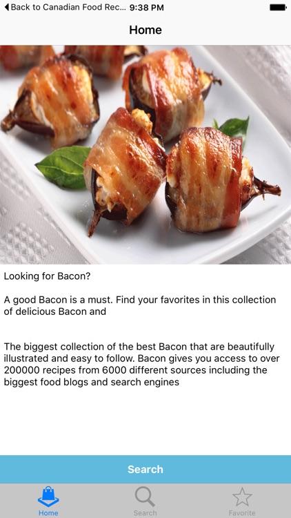 Bacon Recipes - 10001 Unique Recipes