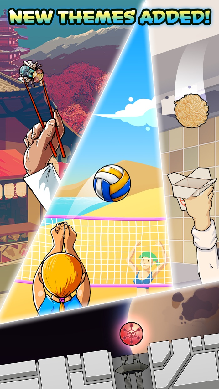 Basket Fall - Basketball Dunking Sim Screenshot
