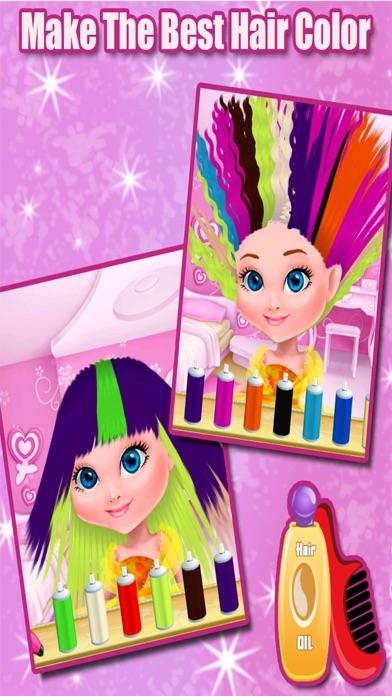 Little Princess Hair Salon - Make Your Own Hair Style For Kids screenshot four