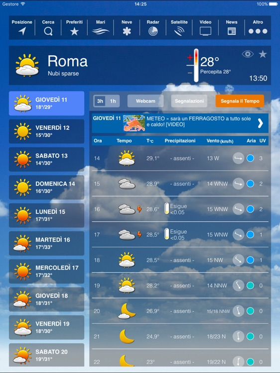 Weather HD Plus - Forecast by iLMeteo