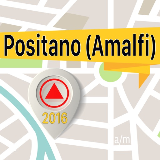 Positano (Amalfi) Offline Map Navigator and Guide
