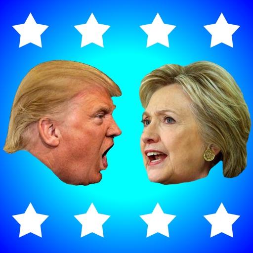 ドナルド・トランプ対ヒラリー・クリントン