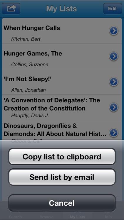 Kids' Book Finder screenshot-4