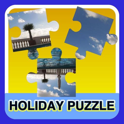 A beautiful holiday photo puzzle - free