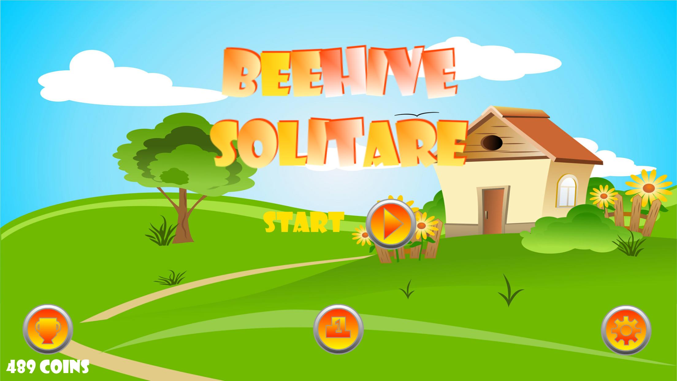 Beehive Solitare screenshot 1
