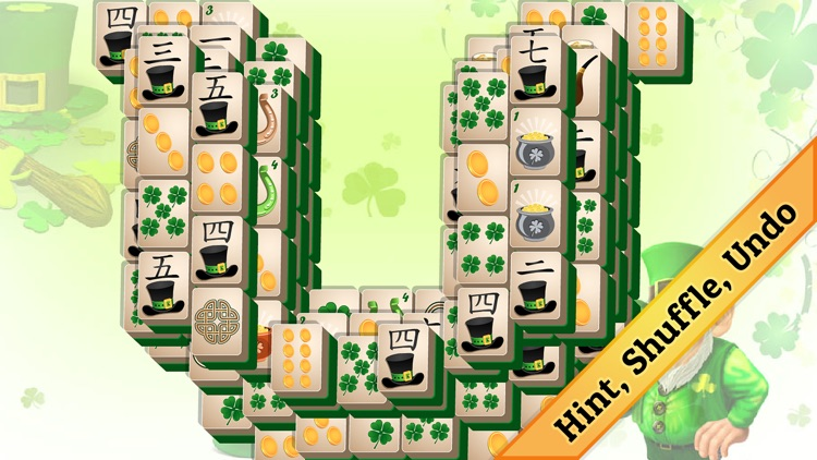 St. Patrick's Day Mahjong screenshot-4