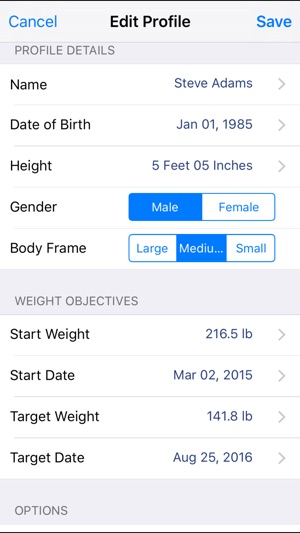 Monitor Your Weight on the App Store