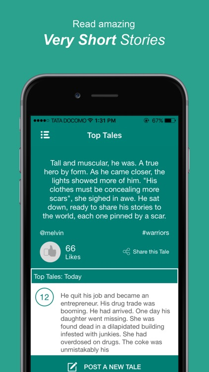 TaleHunt: Very short stories in love and fiction
