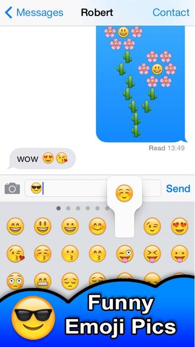 SMS Smileys - Emoji Smile Pics Screenshot