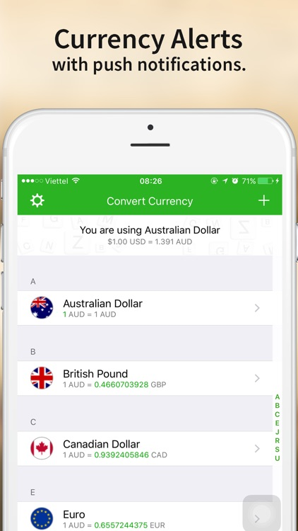 Currency Converter - Currency exchange unit for your travel screenshot-4