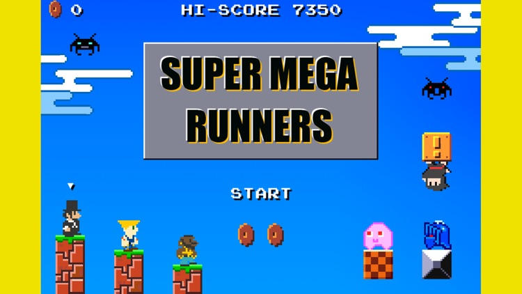 SUPER MEGA RUNNERS screenshot-0