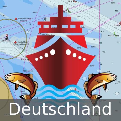 i-Boating:Germany GPS Nautical / Marine Charts & Maps