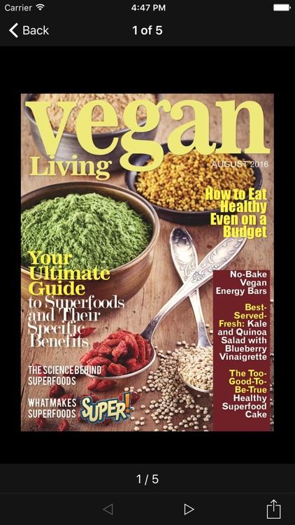 Vegan Living Magazine screenshot-3