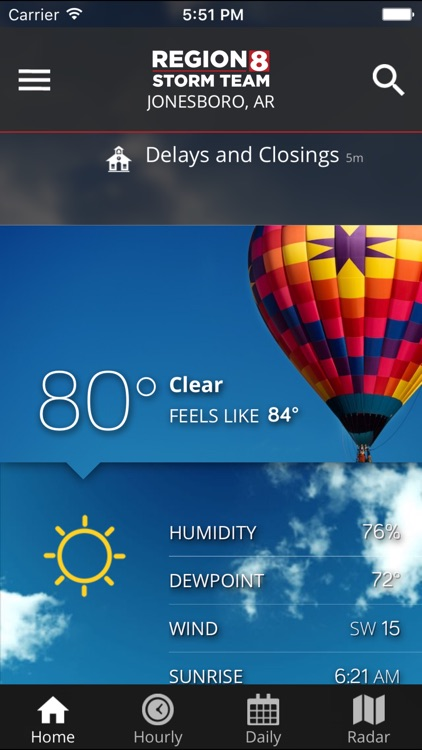 KAIT Region 8 Weather screenshot-1