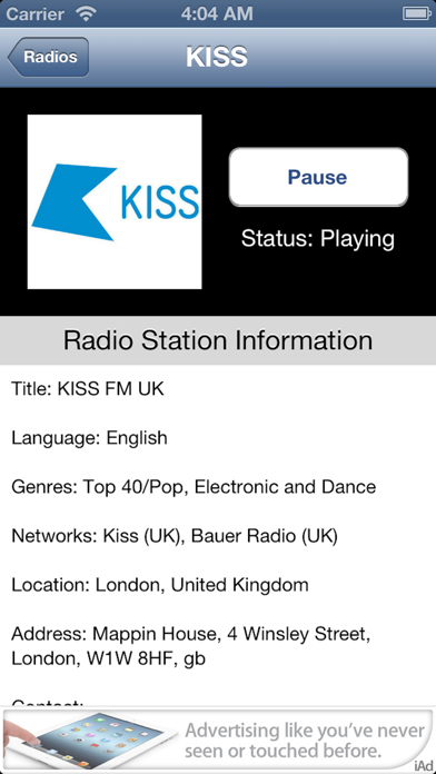 UK Radio Live (United Kingdom) screenshot four