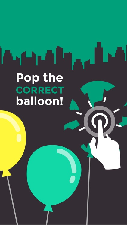 Pop The Color - Match The Balloon Colors