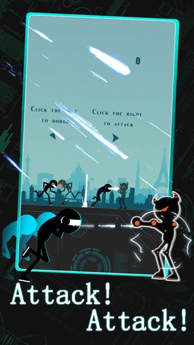 Laser Man : Running screenshot one