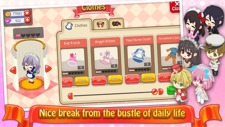 Moe Girl Cafe 2 screenshot-3