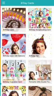 Birthday Cards Free: happy birthday photo frame, gift cards & invitation maker iphone images