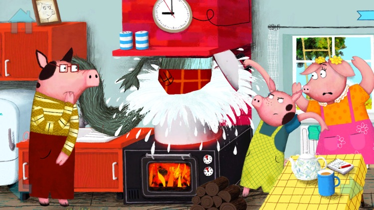 The Three Little Pigs by Nosy Crow screenshot-4