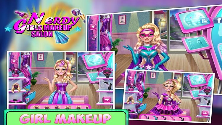 Nerdy Girl Makeup Salon - Makeup Tips & Makeover games for girls