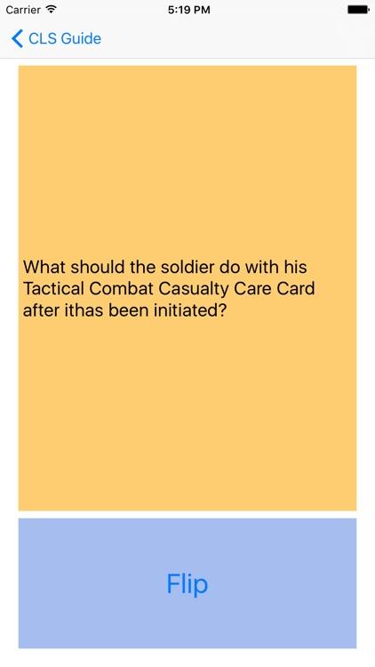 Army Combat Lifesaver CLS