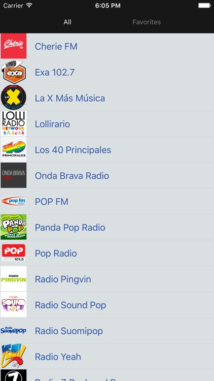 Pop Music Radios