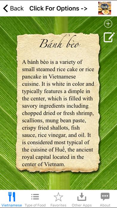 Guide To Vietnamese Food screenshot two