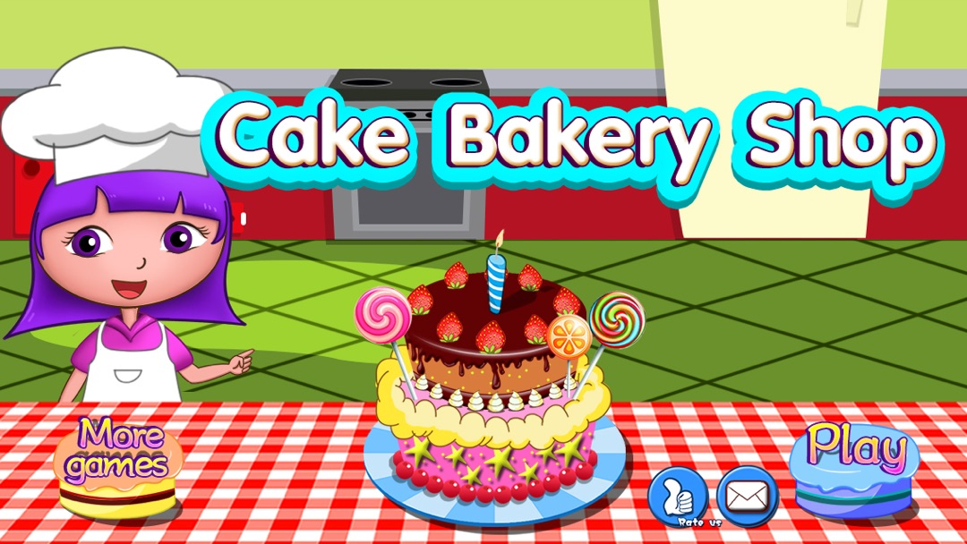 Annas Birthday Cake Bakery Shop Happy Box Free Kids Games