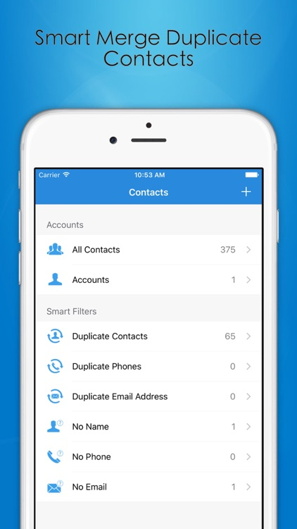Contacts Cleaner Pro screenshot-0