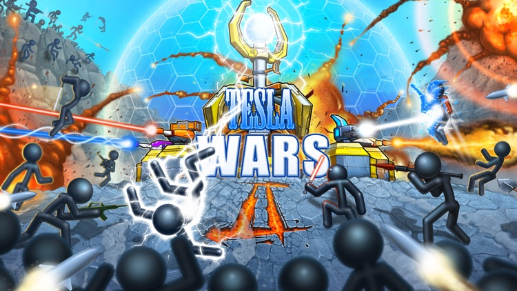 Tesla Wars - II screenshot-0