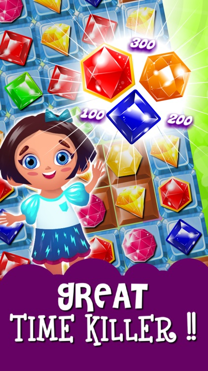 Match-3 Mania - diamond game and kids digger's quest hd free