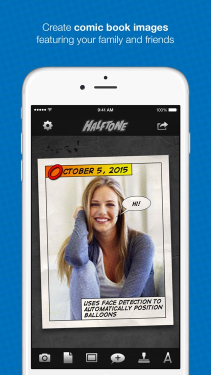 Halftone - Turn Photos Into Comics!