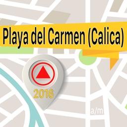 Playa del Carmen (Calica) Offline Map Navigator and Guide