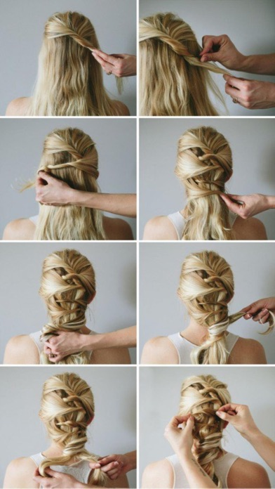 Homemade Hairstyles Step by Step - Great ideas screenshot two