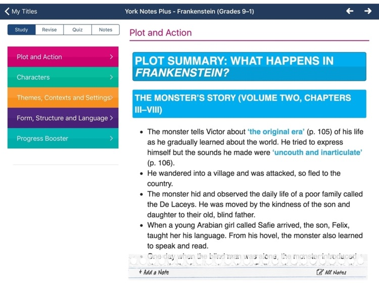 Frankenstein york notes for gcse 9 1 for ipad by balberry publishing frankenstein york notes for gcse 9 1 for ipad fandeluxe Image collections