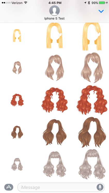 Hairstyles - Sticker Pack screenshot-3