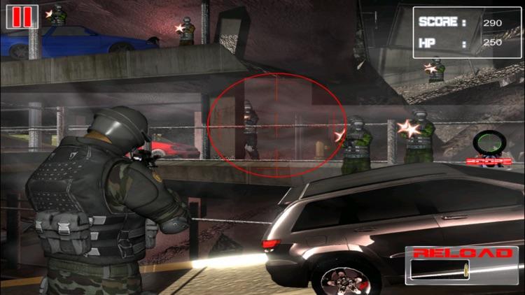 Army City Strike Force - Sniper Combat Warfare Edition screenshot-4