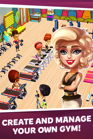 Dream Gym – Build Your Own Fitness Empire! - náhled