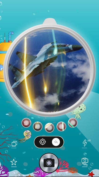 Circular Fisheye Lens Camera screenshot-3