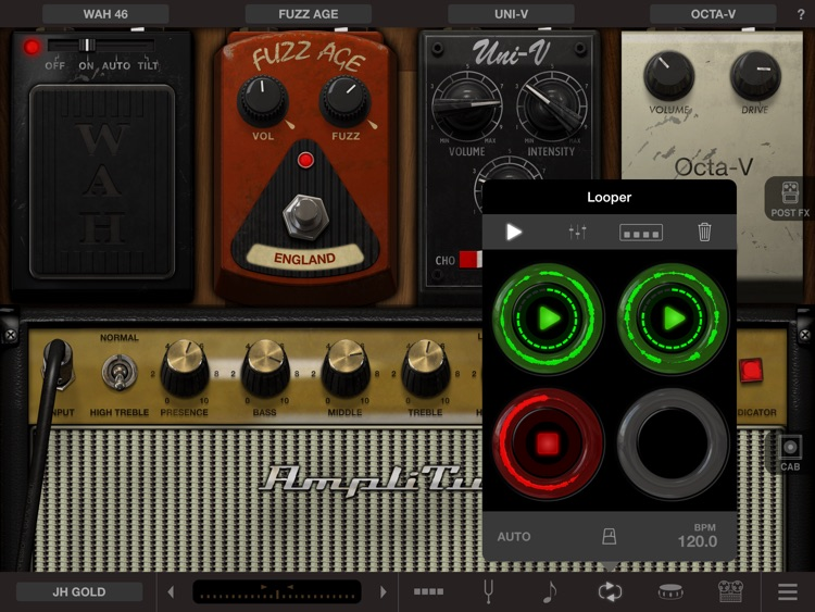 AmpliTube Hendrix™ for iPad
