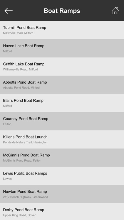 Delaware Boat Ramps & Fishing Ramps screenshot-3