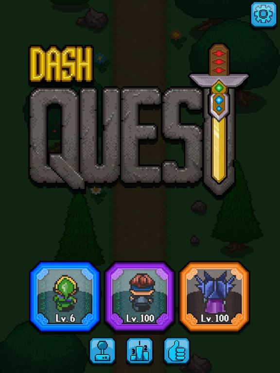 Игра Dash Quest