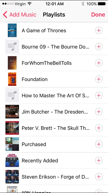 My Audiobook Player screenshot-3