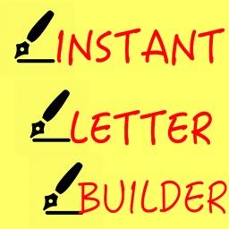 Instant Letter Builder