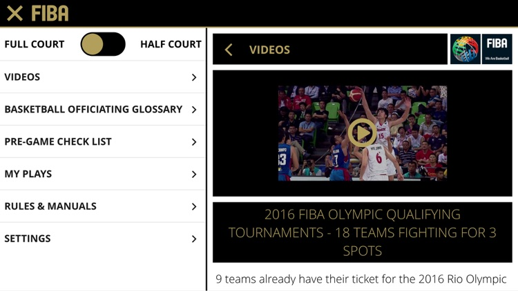 FIBA iRef PGC screenshot-4