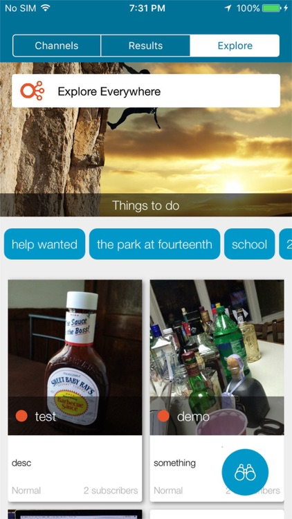 Channels - The Social Bulletin screenshot-4