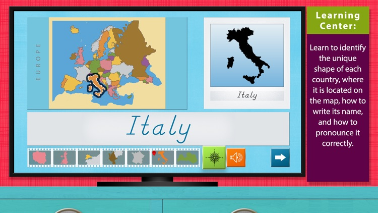 Europe - Geography by Mobile Montessori