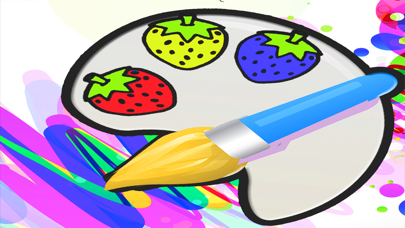 Vocabulary fruit Coloring Book