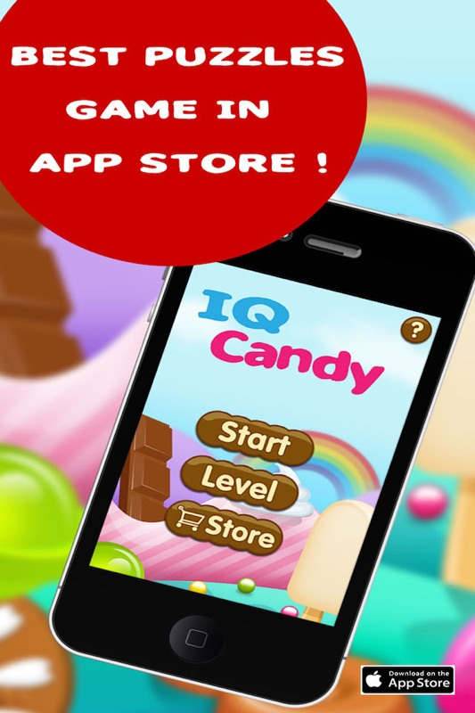 IQ Candy Free :Brain Teasers ,Brain games and Brain training
